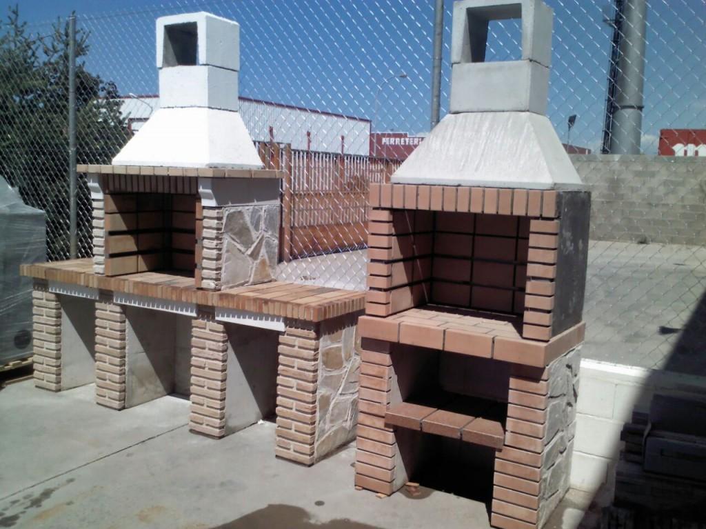 Barbacoa allcalor artesanos del fuego - Ladrillos para barbacoa ...