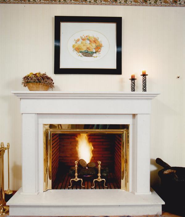 Le a chimenea clasica artesanos del fuego - Tipos de chimeneas de lena ...
