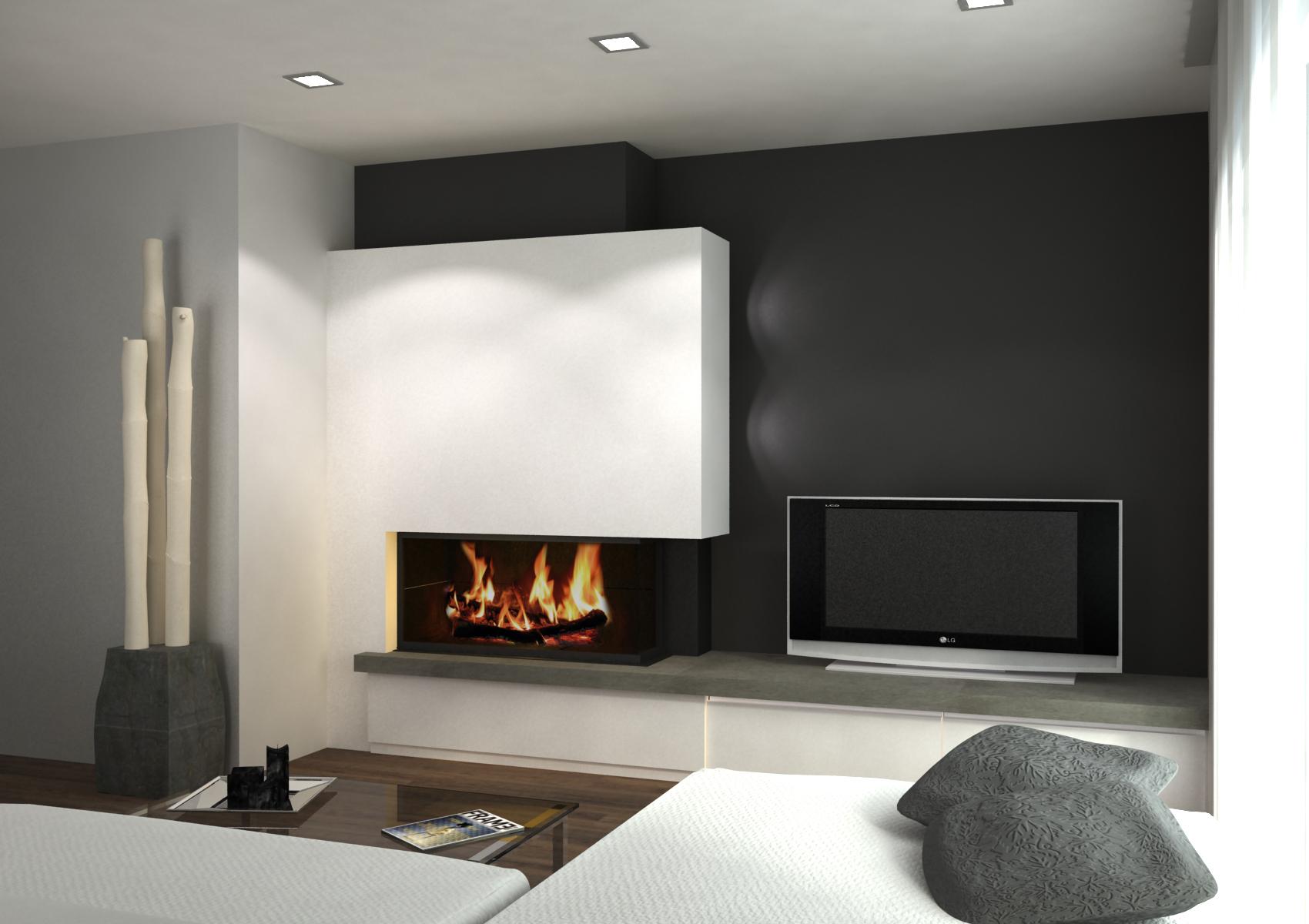 Le a chimeneas de dise o artesanos del fuego for Estufa hogar moderna