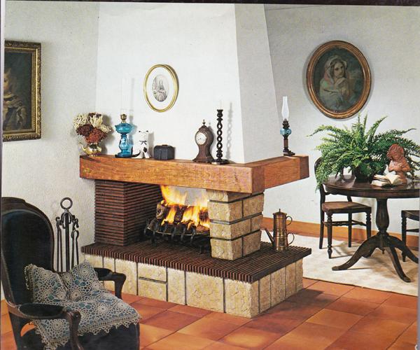 Chimeneas rusticas madrid artesanos del fuego - Diseno de chimeneas rusticas ...