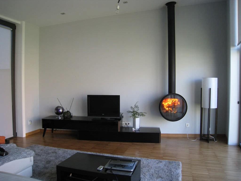 Le a chimenea metalica rocal artesanos del fuego - Chimeneas metalicas de diseno ...
