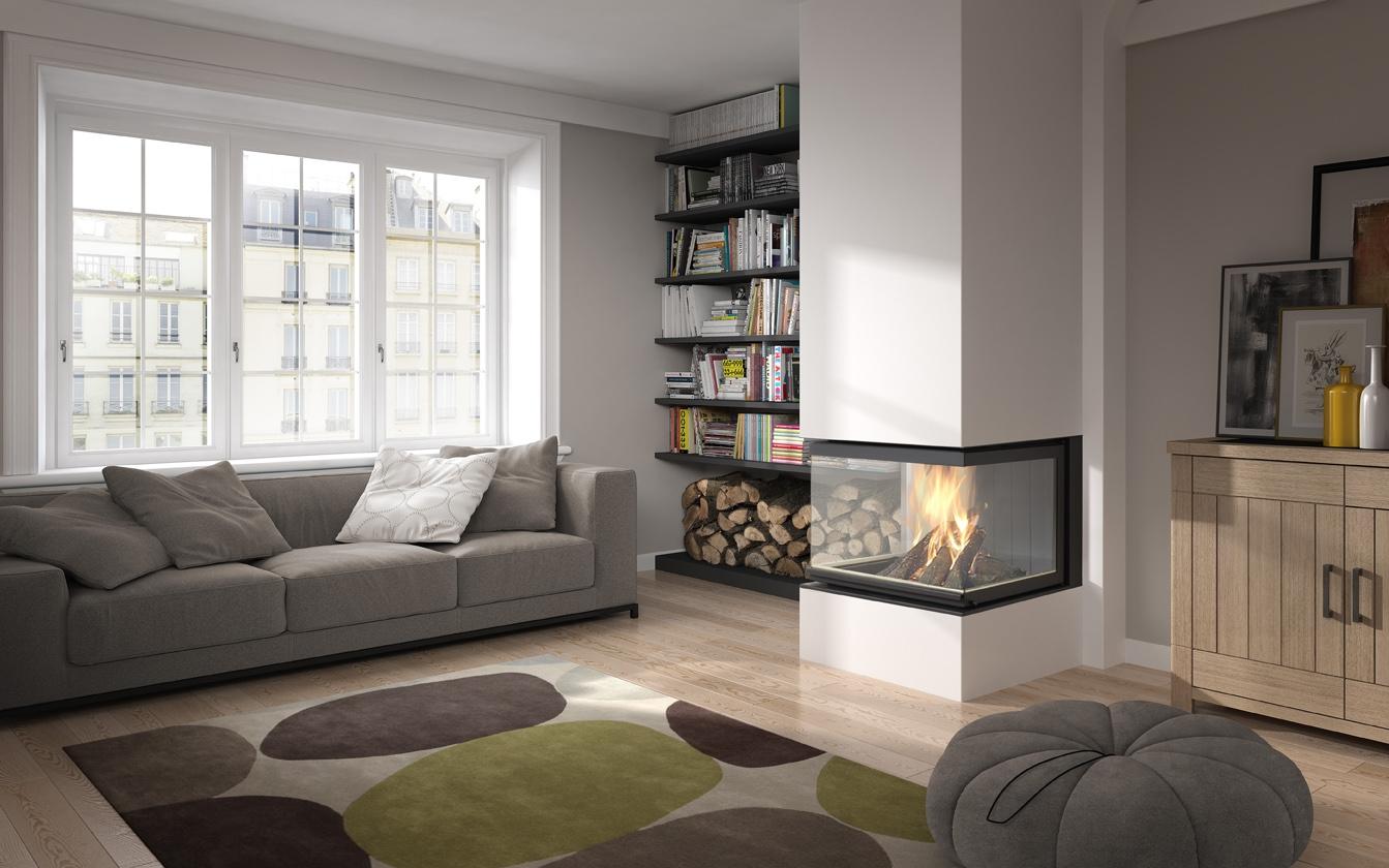 Hogar vision de fugar artesanos del fuego - Fuego decorativo para chimeneas ...