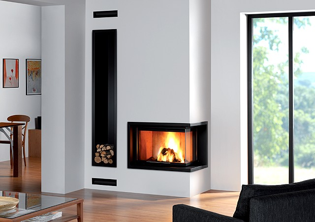 Venta chimeneas modernas madrid artesanos del fuego - Diseno de chimeneas rusticas ...
