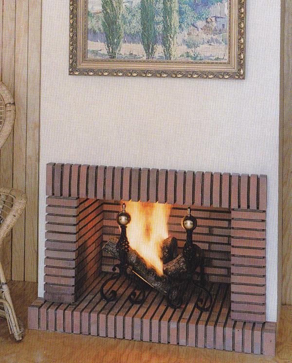 Hogar de ladrillo refractario instalaci n y venta de for Construccion de chimeneas de ladrillo