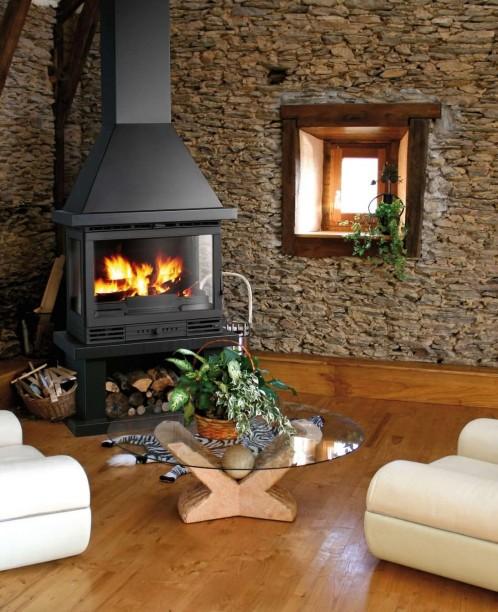 Le a chimenea metalica salgueda artesanos del fuego - Limpiar chimenea de lena ...