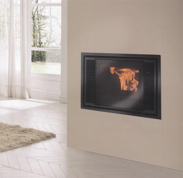 pellets edilkamin modelo inpellet 49 artesanos del fuego. Black Bedroom Furniture Sets. Home Design Ideas
