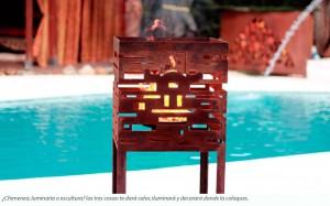 chimenea de exterior flameclass